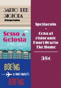 cena fuori orario genova e spettacolo the kitchen company
